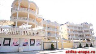 Отдых в Витязево отель Аттика