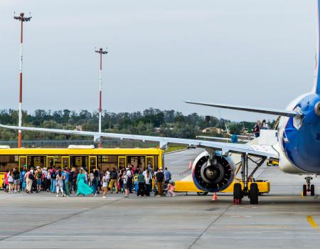 Аэропорт Анапа обслужил около 1 миллиона пассажиров