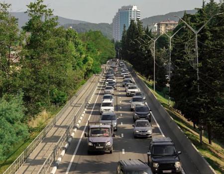В Сочи для разгрузки дорог от пробок планируется строительство дублера участка Кудепста – Адлер