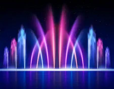 В конце октября состоится последнее в сезоне шоу танцующих фонтанов в Абрау