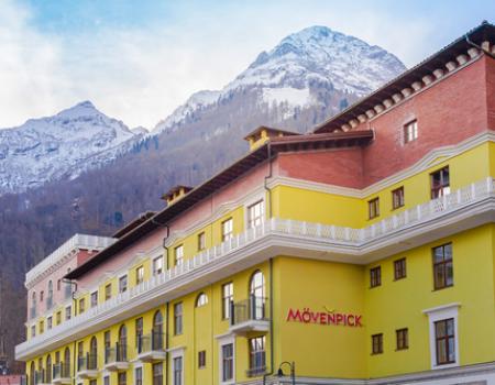 В Красной Поляне открылся отель швейцарской гостиничной сети Mövenpick