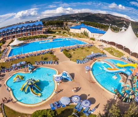 5 лучших аквапарков Краснодарского Края